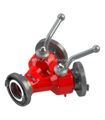 DOUBLE WATER DISTRIBUTER B/BB WITH BALL VALVES