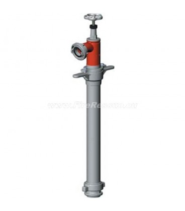 STANDPIPE FOR UNDERGROUND HYDRANT WITH ONE OUTLET - DN80