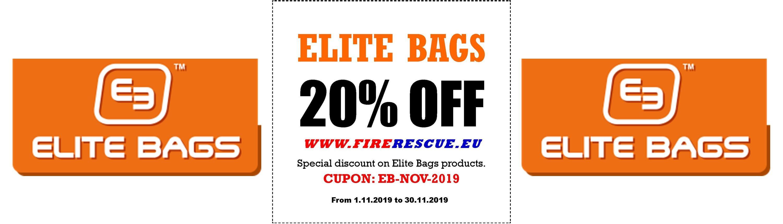 Exclusive 20% discount - Elite Bags